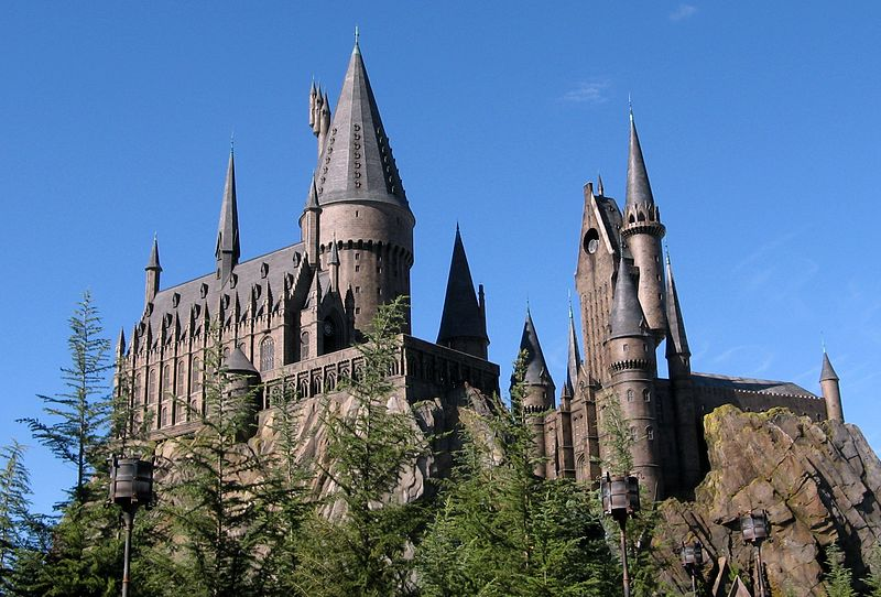harry potter castle orlando. The Wizarding World of Harry