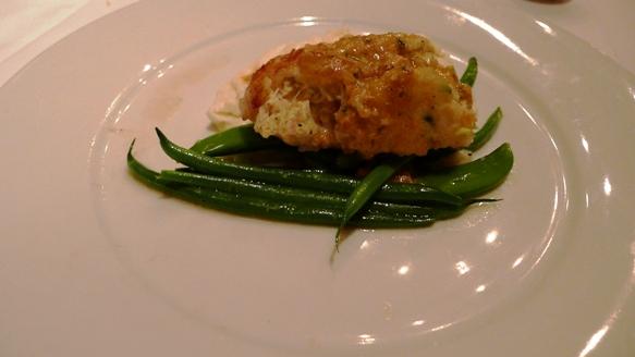 Olde Pink House Stuffed Grouper