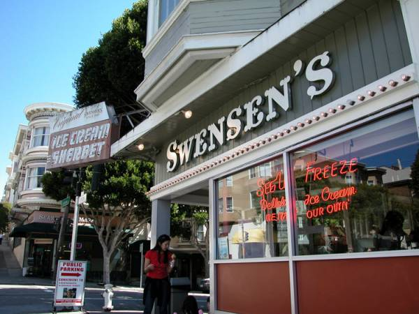 Amazing Ice Cream at Swensens in San Francisco