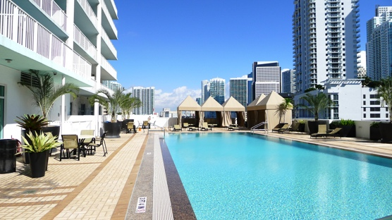 LandingStanding's Pool in Miami