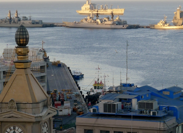 Valparaiso and the Chilean Navy