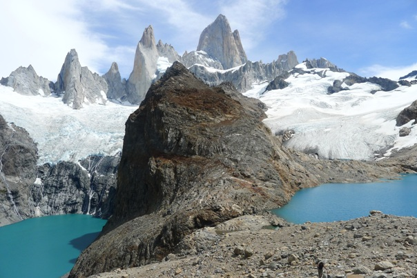 The beautiful Laguna De los Tres in El Chalten