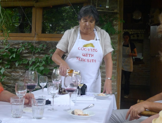 Teresita Soaking In The Food Culture Of Argentina   Cooking with Teresita
