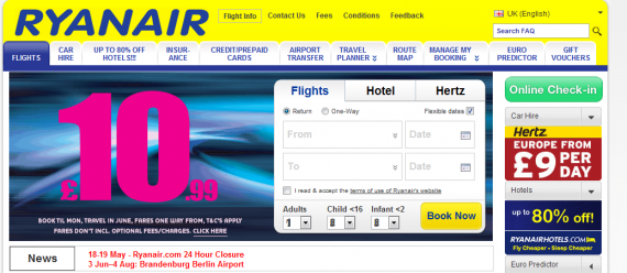 Ryanair screenshot e1337000032439 Beware Ryanair   The Hidden Physical, Mental, & Financial Costs