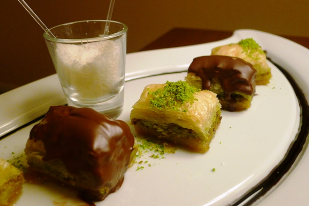 Chocolate1 Our Baklava Hunt Through Istanbul   Foodgasmic Tales From The Road