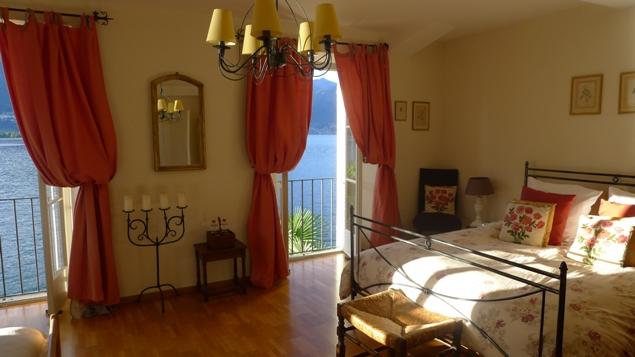 Our romantic villa, courtesy of Lisa and Fritz!
