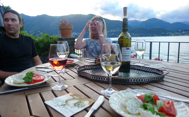 Caprese A Total Package Meal On Lake Maggiore, Switzerland   Foodgasmic Tales From The Road