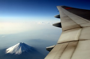 mtfuji  777200 300x199 Travel by plane