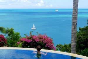 View from Luxury Villa Koh Samui, Thailand