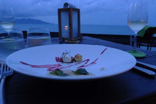 Dining on the Rocks, Six Senses, Koh Samui, 2012 Samui Fine Dining Festival
