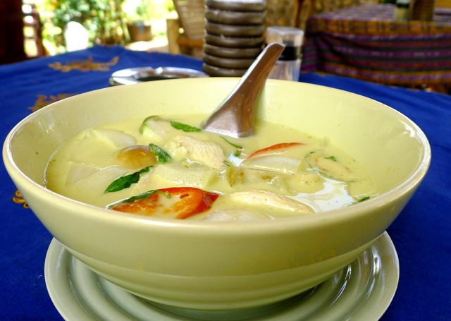 Green Curry Koh Samui Thailand