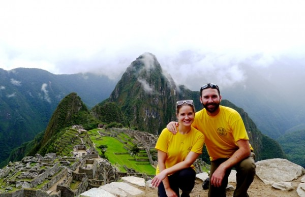 Hiking Inca Trail to Machu Picchu Peru