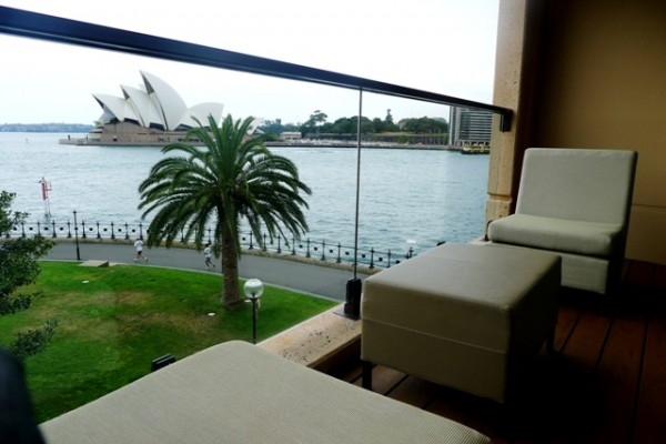 Park hyatt for The balcony bar sydney