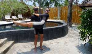 Scuba diving with Manta Dive on Gili Air