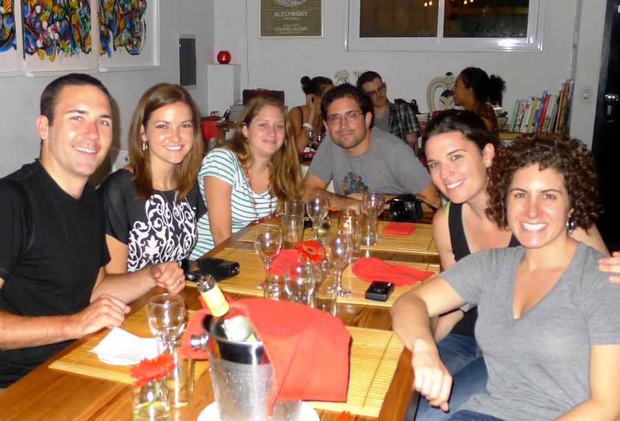 Travel Blogger Dinner Buenos Aires