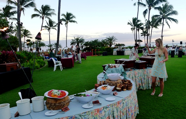 Grand Hyatt Kauai Luau Food