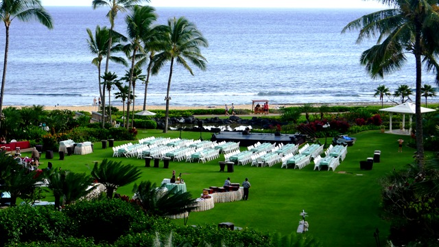 Grand Hyatt Kauai Luau View