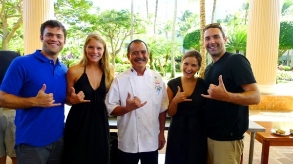 Hang Ten with Guy Higa 600x337 A Farm To Fork Culinary Tour In Paradise