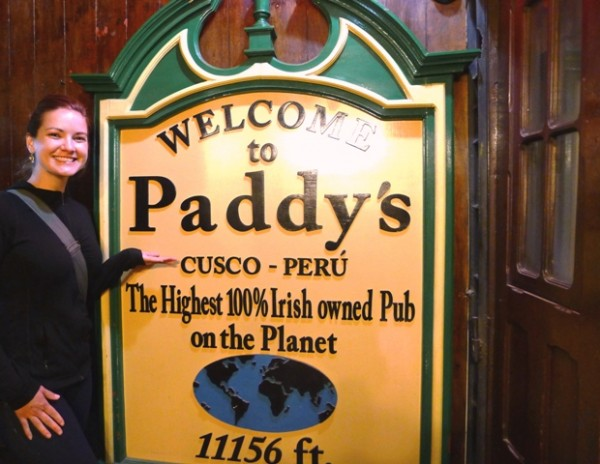 Paddys Pub Cusco 600x464 A Different Kind Of Binge Day