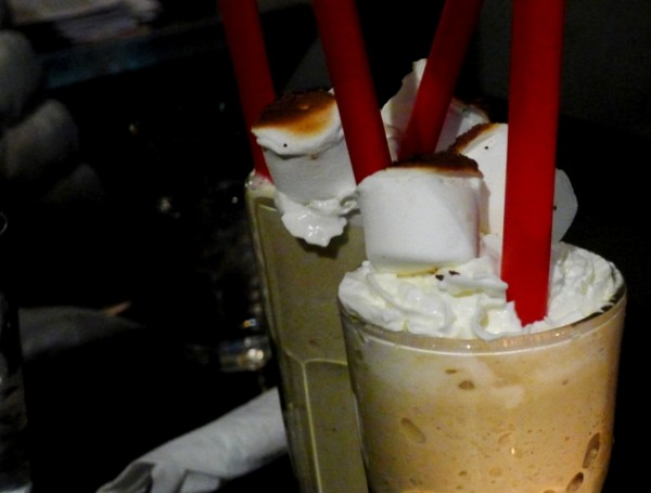 The Stand New York Toasted Marshmallow Shake