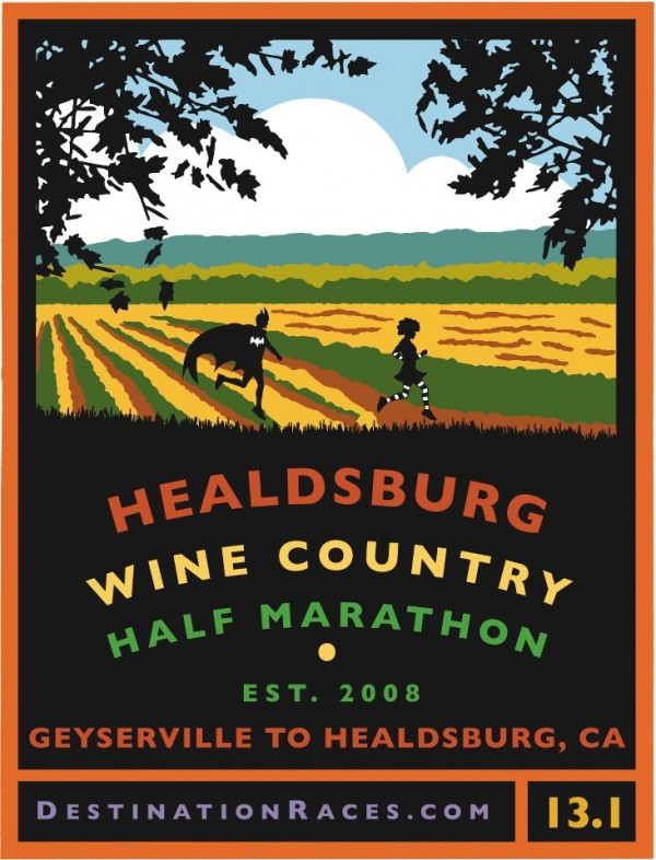 Healdsburg Wine Country 1/2 Marathon