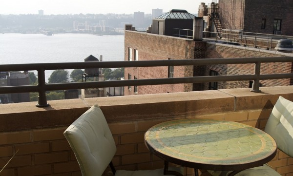 terrace on hudson river e1382383770322 6 Crucial Keys To Booking The Perfect Apartment While Traveling