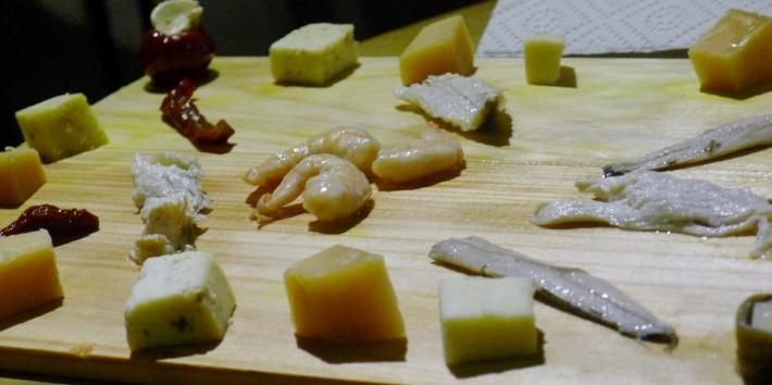 Antipasto plate Croatian style