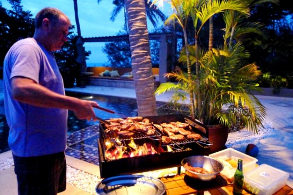 Barbeque on Koh Samui, Thailand